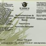 etiket multi p/p 1500
