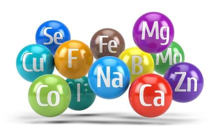 2 vaak gestelde vragen over middelen met mineralen: wat wordt bedoeld met 'elementair gehalte' en welke soorten mineraalpreparaten bestaan er?